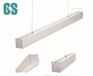 China 360 Degree Beam Angle LED Linear Light Fixture Factory / Cinema / Gallery No Strobe on sale