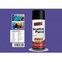 Xylene Free Fast Drying Spray Paint UV Resistant With Great Control Caps
