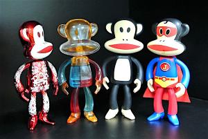 China Paul Frank Plastic Toy Figures 5.5 Inch Tall Monkey Arm / Leg Movable on sale