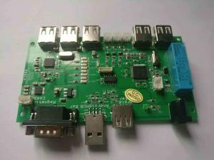 China 6 Layer Impedance PCB Manufacturing HASL Computer Circuit Board For ARM Board on sale