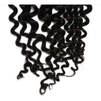 China Black Women Loose Curly Virgin Cambodian Hair / 100 Real Human Hair  on sale
