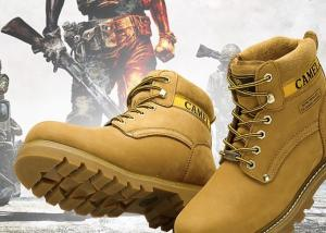China High Ankle Military Steel Toe Work Shoes For Men 44 Size Anti Static S3 Grade on sale