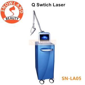 China 1064 nm 532 nm ND YAG Laser C8 Q switch Tattoo Birthmark Removal Machine on sale