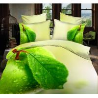 China Super soft 100gsm bedclothes duvet cover with zipper 3d duvet cover set on sale