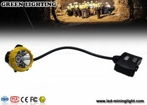 China 15000lux High Brightness LED Mining Light IP68 Waterproof Miners Cap Lamp on sale