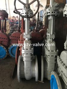 China API 6D Class 150 Carbon Steel Gate Valve with Flange End,16 Inch,Bolt Bonnet ,Gear Op. on sale