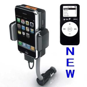 China Dc 12v, Vehicle Power Black Fm Transmitter + Car Charger For Iphone 3gs 3g Ipod Touch on sale