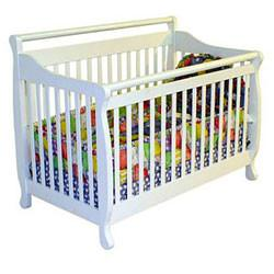 China Dream Convertible Crib Convertible Cribs Solid Pine Wood D on sale