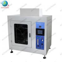 Measure the Fire Hazard of the Electro Equipment Needle Flame TesterInsulation Material Flame Retardant Testing Machine