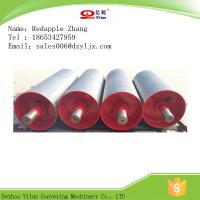 Q235 Mining Conveyor Bend Pulley with Rubber Lagging for Machinery Manufacturer