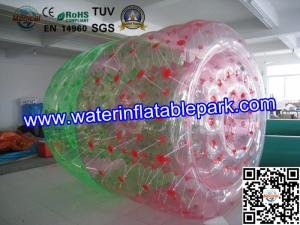 China Rental Business Funny Water Park Inflatable Water Roller Balls In Europe on sale