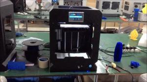 China Single Color Plastic 3d Printer , 3d Metal Printing Machine 0.04 Mm Max Resolution on sale