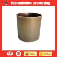 Copper plated stainless steel gardening flower planters flower pot