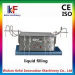 5-1000 ml Semi Automatic 4 Heads Liquid / Perfume Bottle Filling Machine