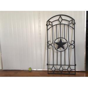China Portas decorativas do ferro e do vidro para portas de entrada 15.5*39.37/tamanho feito sob encomenda on sale