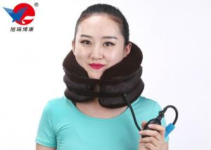 China Easy To Wear Inflatable Air Pump Traction Neck Brace Cervical Traction Device on sale