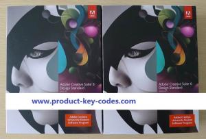 China Student And Teacher Edition Adobe Graphic Design Software Dvd , Creative Suite 6 Design Standard on sale