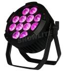 RGBWA+UV 12*18W  6 In 1  Outdoor Par Can , Waterproof Led Par Light