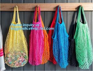 China Reusable Grocery Market Cotton Net Shopping String Net Bag,Reusable grocery tote mesh shopping cotton net bag bagease on sale