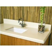 China Corian Solid Surface Bathroom Vanity tops on sale