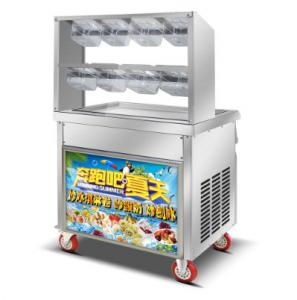 China 110v usa intellective thailand fried ice cream roll pan machine thailand supplies on sale