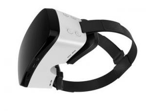 China White Wireless ANDROID / iOS 3D Virtual Reality Glasses With Headphone on sale