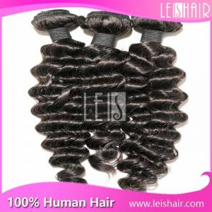 China Latest coming indian naturally curly weave hair supplier