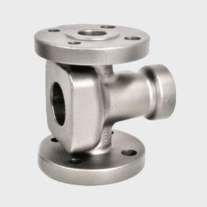 China Stainless Steel Investment Casting Valve Parts  , Water Pump Valve Body Casting on sale