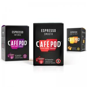 China Eco Friendly Espresso Custom Coffee Packaging UV Coating 110gsm - 230gsm on sale
