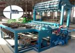 China Zoo Fence  Iron Wire Making Machine , Galvanized Livestock Chain Link Fence Making Machine wholesale
