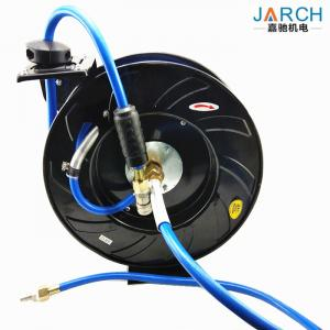 China Black 900psi Air Retractable Hose Reel Low Pressure Automatic Expansion Pipe Type on sale