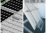 High Flexibility PV Mounting Systems Aluminum Structure Solar Bracket Solar Panel Rail Mounting System
