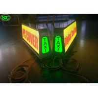 China P8 Full Color Car LED Sign Display with High Definition , Car Led Sign Screen on sale