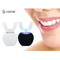 Intelligent Fully Automatic Toothbrush , Ultrasonic 360 Degree Whitening Automatic Teeth Brusher