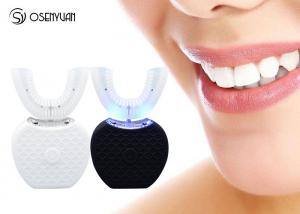 China Intelligent Fully Automatic Toothbrush , Ultrasonic 360 Degree Whitening Automatic Teeth Brusher on sale
