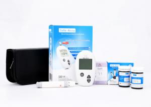 China Old People's Home Home Glucose Meter Automatic Control Solution Detect 100 Control Solution Result on sale