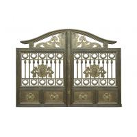 Architectural Wrought Iron Cast Iron Garden Gate European Style