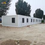 Fast Build Sandwich Panel Container House  Refugee Camp Living Container House