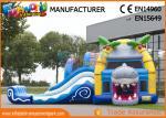 Multiplay Shark Inflatable Bouncy Slide Jumping Castles Inflatable Water Slide