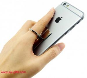 China Luxury Crystals Diamond Finger Ring Holder Grip Your Mobile Phone Hand Holder Stand on sale