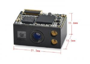 China 2D Arduino Barcode Scanner Module Mini 3mil Laser QR Code Reader with Closer Decoding on sale