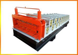 China Roof Use Double Layer Corrugated Profile Steel RoofingSheetRollFormingMachineRoof Tile MakingMachinePrice on sale