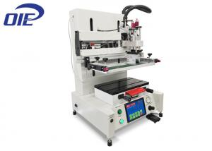 China Desktop Flatbed Screen Printing Machine For Electronic Molded Parts Printing on sale
