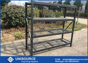 China 200 - 800 Kg Heavy Duty Industrial Shelving , Easy Assemble Warehouse Storage Shelves on sale