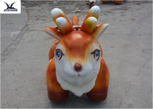 China Mini Cartoon Sika Deer Motorized Animal Scooters Moving Forwards / Backwards on sale