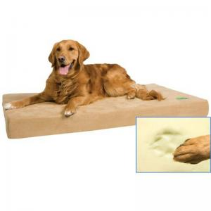 China Small Animals Luxury Dog Bed Cushion With Paws Print Removable Cover on sale