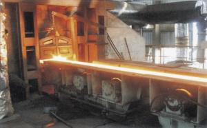 China Semi-portal Billet Casting Machine , R6M 1S CCM Ladle Turret upgrade on sale
