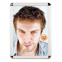 China Wall Mounted Snap Poster Frames Display Aluminum Click Photo Frame on sale
