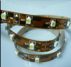 China IP68 Blue Waterproof SMD 3528 4.8W Flexible Led Strip Llights with Work Voltage DC12V on sale