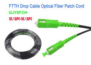 China GJYXFCH FTTH Drop Cable Patch Cord Fiber Optic Cable Cable With Connector SC/APC By Aerial or Duct on sale